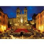 Puzzle  Ravensburger-16370 Place d'Espagne à Rome, Italie
