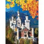 Puzzle  Ravensburger-16386 Château de Neuschwanstein en automne