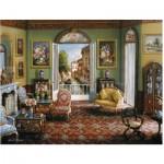 Puzzle  Ravensburger-16689 Chambre avec Vue