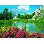 Puzzle  Ravensburger-17024 Les Dolomites