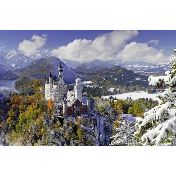 Château de Neuschwanstein en hiver
