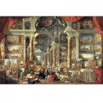 Puzzle  Ravensburger-17409 Panini : Vues de la Rome Moderne