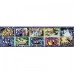 Ravensburger-17826 Plus Grand Puzzle du Monde : Moments Disney inoubliables