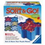 Puzzle  Ravensburger-17930 6 Boîtes de Tri en Plastique