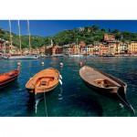 Puzzle  Ravensburger-19053 Italie, Port de Portofino