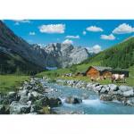Puzzle  Ravensburger-19216 La montagne des Karwendel, Autriche