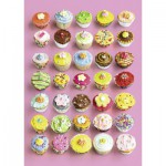 Puzzle  Ravensburger-19440 Cupcakes Gourmands