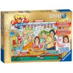Ravensburger-19513 What If ? Puzzle N°12 - The Cake Off