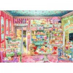 Puzzle  Ravensburger-19599 The Candy Shop