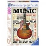 Puzzle  Ravensburger-19615 Passion pour la Musique