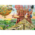 Puzzle  Ravensburger-19652 Colin Thompson - Flying Home