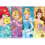 Puzzle  Ravensburger-19661 Disney Princess