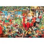 Puzzle   Les Derniers Préparatifs Du Père Noël