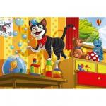 Puzzle  Schmidt-Spiele-55014 Le chat de Schmidt