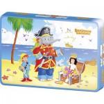 Puzzle  Schmidt-Spiele-55886 Benjamin Blümchen : Benjamin en Pirate