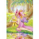 Puzzle  Schmidt-Spiele-56014 L'elfe Rosaria