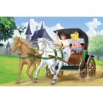 Puzzle  Schmidt-Spiele-56051 Bibi et Tina : En calèche