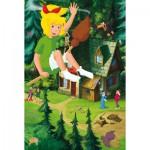 Puzzle  Schmidt-Spiele-56079 Bibi et Tina : Au dessus de la maison de Mania