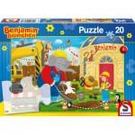 Puzzle  Schmidt-Spiele-56088 Benjamin sur le Chantier