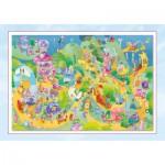 Puzzle  Schmidt-Spiele-56169 Sorgenfresser: A vos marques, prêts, partez!