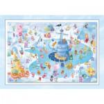 Puzzle  Schmidt-Spiele-56172 Sorgenfresser: Plaisirs d'Hiver