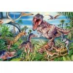 Puzzle  Schmidt-Spiele-56193 Dinosaures