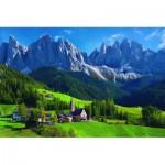 Puzzle  Schmidt-Spiele-58200 St. Magdalena, Sud du Tyrol