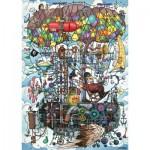 Puzzle  Schmidt-Spiele-58207 Machine Volante