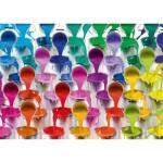 Puzzle  Schmidt-Spiele-58219 Pots de Peintures