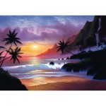 Puzzle  Schmidt-Spiele-59319 Jon Rattenbury: Baie Paradisiaque