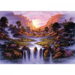 Puzzle  Schmidt-Spiele-59321 Jon Rattenbury, Cascade Fantastique