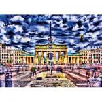 Puzzle  Schmidt-Spiele-59332 Michael von Hassel, Porte de Brandebourg, Berlin