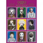 Puzzle  Schmidt-Spiele-59345 Pets Rock, Art