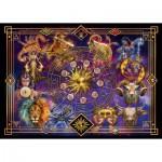 Puzzle  Schmidt-Spiele-59356 Ciro Marchetti, Signes du Zodiaque