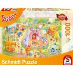 Puzzle  Schmidt-Spiele-59369 Sorgenfresser, En piste!