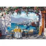Puzzle  Schmidt-Spiele-59396 Sam Par - Rendez-vous à Mykonos