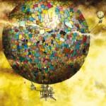 Puzzle  Schmidt-Spiele-59400 Colin Thompson : Voyage en montgolfière fantastique