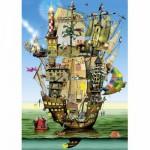 Puzzle  Schmidt-Spiele-59403 Colin Thompson : Le château de Noé