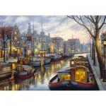 Puzzle  Schmidt-Spiele-59561 Evgeny Lushpin - Sur le Canal