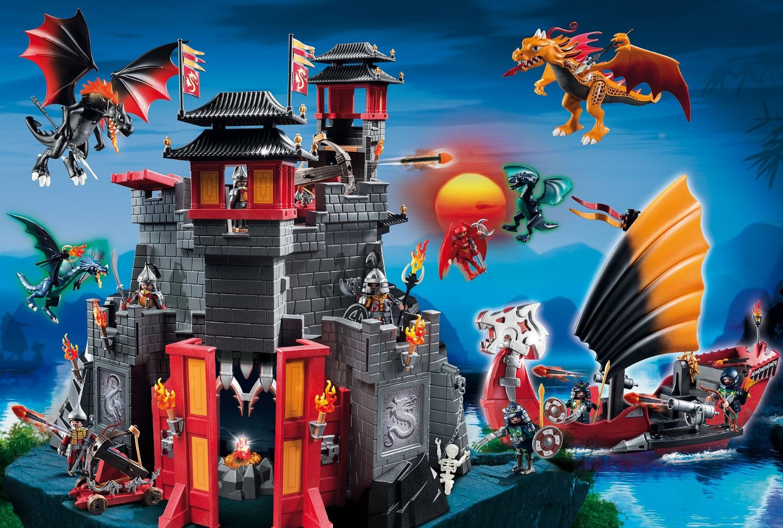 puzzle playmobil  asie terre des dragons schmidtspiele