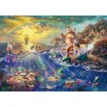 Puzzle   Thomas Kinkade - Ariel La Petite Sirène