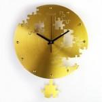 T-Best-02 Horloge Métallique Murale - Puzzle