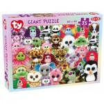 Tactic-53286 Puzzle Géant de Sol - Ty Beanie Boos