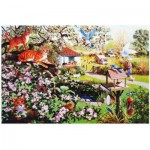 Puzzle  The-House-of-Puzzles-1714 Garden Watch