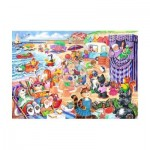 Puzzle  The-House-of-Puzzles-1790 Pièces XXL - At The Seaside
