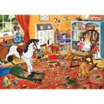 Puzzle  The-House-of-Puzzles-1936 Pièces XXL - Toy Stories
