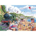 Puzzle  The-House-of-Puzzles-2469 Pièces XXL - Seaside Special