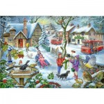 Puzzle  The-House-of-Puzzles-2728 Trouvez les 15 Différences No.3 - In The Snow