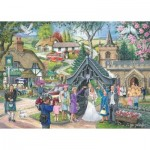 Puzzle  The-House-of-Puzzles-2834 Trouvez les 15 Différences No.4 - Wedding Day