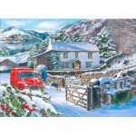 Puzzle  The-House-of-Puzzles-3879 Pièces XXL - A Welcome Visit